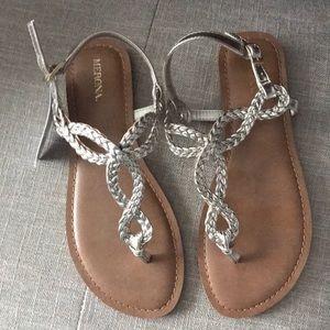 NWT Merona gold sandals